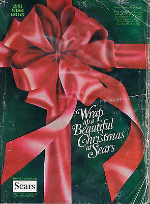 Sears Wish Book For The 1981 Season Christmas Catalog