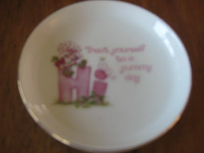 Vintage Strawberry Shortcake Pin Dish