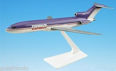 Federal Express - Fedex , Boeing 727-200    1972 - 1996 Desk Model