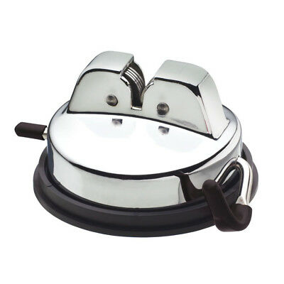 Kitchen Craft Worktop Counter Knife Sharpener - Stable Rubber Suction Base