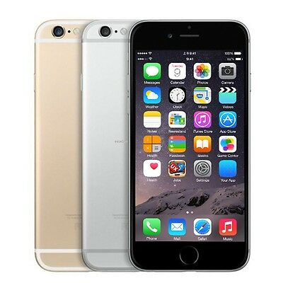 "Apple iPhone 6 16/64/128GB ""Fabrik Entsperrt"" Smartphone Kein fingerabdruck"