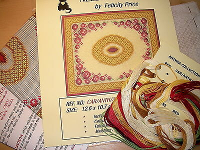 Needlepoint Kit for ANTHEA CARPET, DOLLS HOUSE MINIATURES (F442)