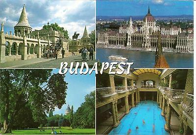 Budapest - Hungary - Views - Posted Postcard