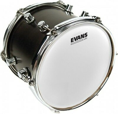 "Evans 12"" UV1 Coated Drum Head Skin B12UV1"