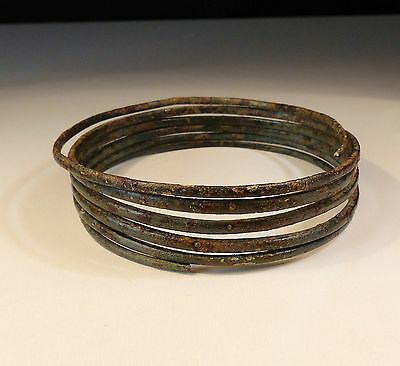 Superb Ancient Bronze Age Bracelet 7Th Bc