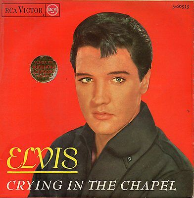Elvis Presley, Ep, Crying In The Chapel + 3,spanish Edit.1965