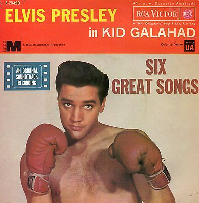 Elvis Presley, Ep, King Of The Whole Wide World  + 5, Spanish Edit.1962