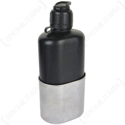 Original Swiss M84 Field Canteen - 0.8L Water Bottle Army Surplus Cup Military