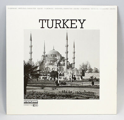 Vinyl LP V.A. Turkey Selected Sound Folk World Ethnologic Library 9980465