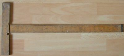 Vintage J. Rabone & Sons Carpenters Square With 2' Double Sided Ruler No.1137
