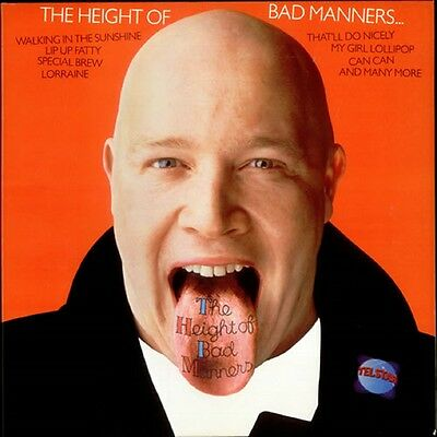 BAD MANNERS The Height Of 1983 UK  vinyl LP EXCELLENT CONDITION Best of telstar
