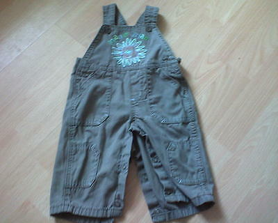 BABY BOYS M&Co DUNGAREES age 3-6 months
