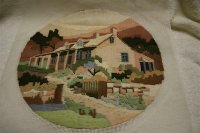 Semco Long Stitch - Country Homestead - completed.