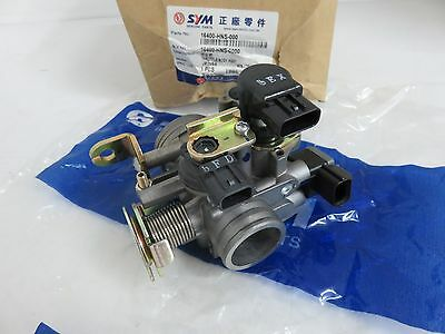 OEM SYM GTS 125i Evo Throttle Body Assy PN 16400-HNS-000