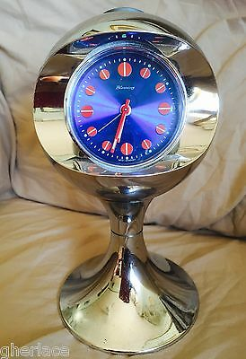 Orologio Blessing Space Age 1970 Desk Clock Tulip Base Panton Era