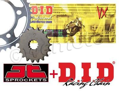 BMW F 650 GS Dakar 1993-2007 DID Chain VX Heavy Duty X-Ring & JT Sprocket Kit