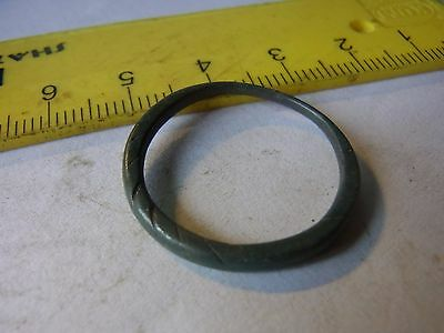 Ancient Bronze Casting Ornament Ring