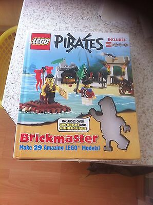 Lego Pirates Castle Brickmaster Book Instructions Buildings For Minifigures Gift