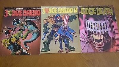 The Chronicles of Judge Dredd 1 y 2 + Judge Death
