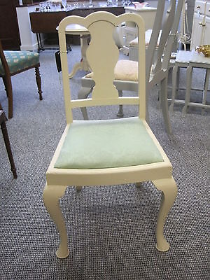 Vintage Chair Painted in Annie Sloan Old Ochre