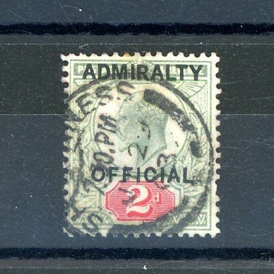 1903  Admiralty Official    2d  SG O104  fine-used     (D383)