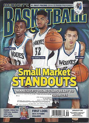Small Markets Stand Outs Beckett Basketball Sept, 2015 Price Guide Vol #276