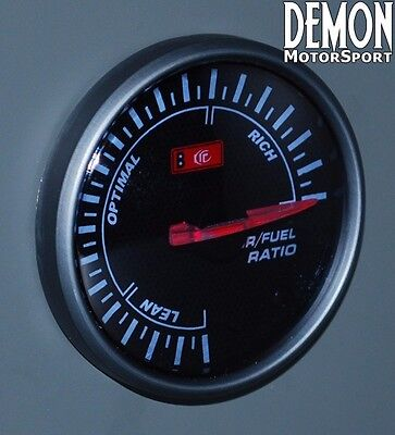 60mm Red LED Air / Fuel Ratio Gauge (40679)