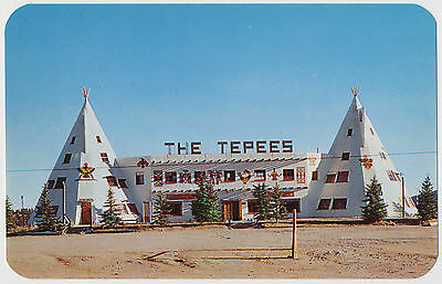 The Tepees Restaurant Dancing and Cocktails, Highway 40, Golden, Colorado