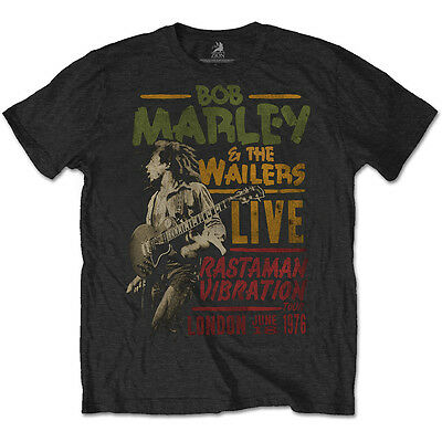 BOB MARLEY Rastaman Vibration Tour 1976 T-SHIRT (All Sizes) OFFICIAL The Wailers