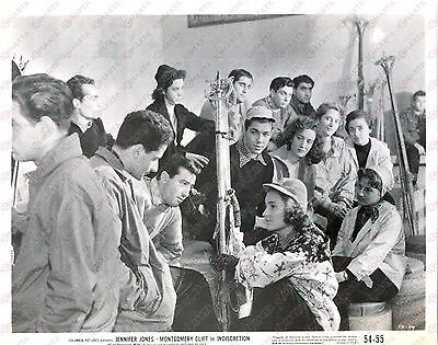 1953 INDISCRETION OF AN AMERICAN WIFE Movie by Vittorio DE SICA *Photo 25x20