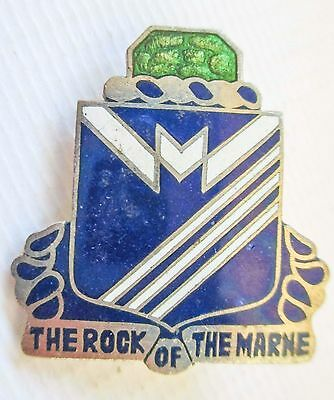 Enamelled Badge Insignia Us Army United States Dui 3Rd Infantry Division