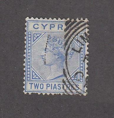 Cyprus Selection Of Queen Victorian Issues Light Used