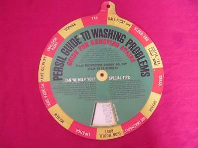 1960s Persil Guide To Washing Problems