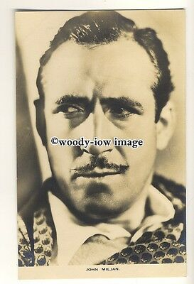 b3526 - Film Actor - John Miljan - postcard by Film Weekly
