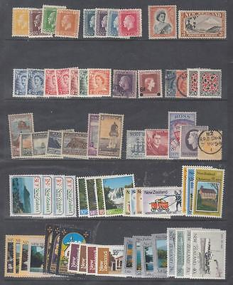 New Zealand Mint And Light Used Collection Plus Ross Dependency