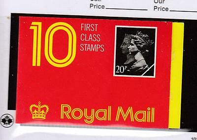 GB # HD5?? MNH 20 x 1st CLASS DOUBLE HEADS BOOKLET PO FRESH