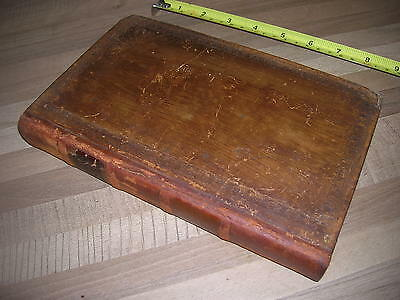 THE WORKS OF LORD BYRON original 1819 book , leather bound