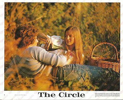 1972 THE CIRCLE Movie Tom MOYER Lovers during a picnic *Foto seriale 25x20