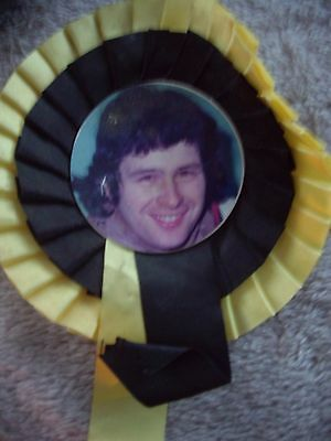 Ray Bales (Fen Tigers) Speedway Rosette 1970S