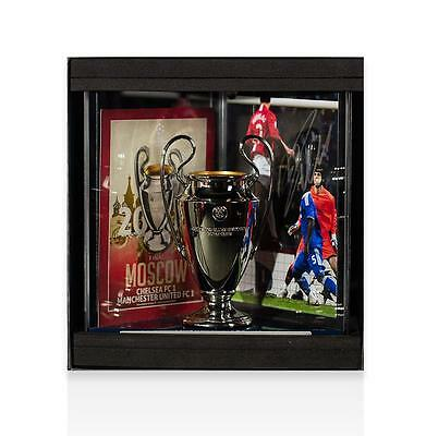 Cristiano Ronaldo Official UEFA Champions League Signed Manchester United 3D Min