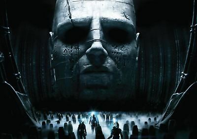 PROMETHEUS ALIENS POSTER ART PRINT A4 A3 SIZE BUY 2 GET ANY 2 FREE