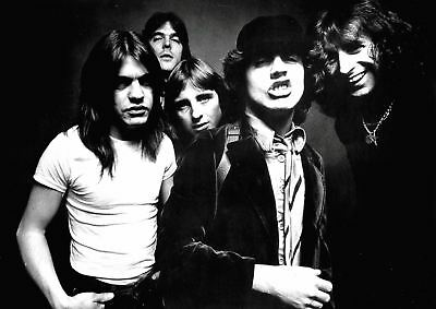 Acdc Rock Music Band Metal Heavy  Highway To Hell Poster Print  Amk2282