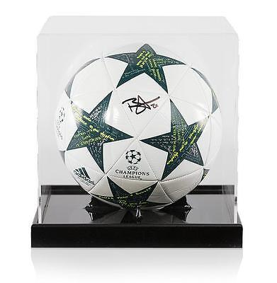 Dele Alli Official UEFA Champions League Signed 2016-17 Football in Acrylic Case