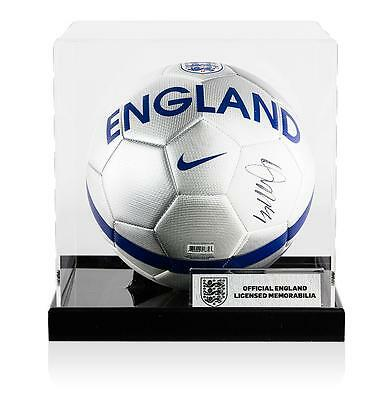 Danny Rose Official England Signed England Football In Acrylic Case