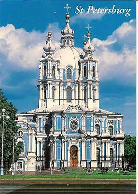 Smolny Cathedral -St.Petersburg. - Posted Postcard