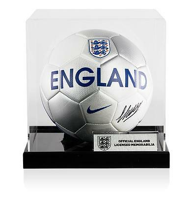 Michael Keane Official England Signed England Football In Acrylic Case