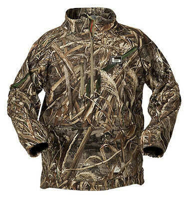 NWT Banded Gear UFS Fleece 1/4 Zip Jacket Realtree Max 5 All Sizes
