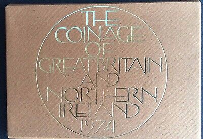 1974 Proof Set of The Coinage of Great Britain & Northern Ireland (Ref:5)