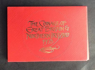 1973  Proof Set of The Coinage of Great Britain & Northern Ireland (Ref:2)
