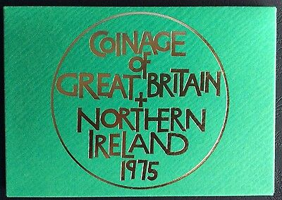 1975 Proof Set of The Coinage of Great Britain & Northern Ireland (Ref:20)